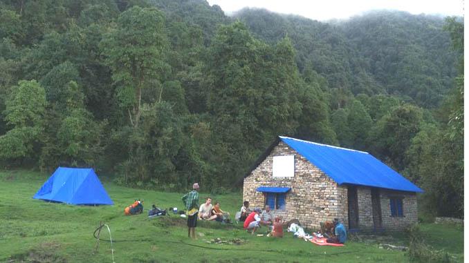 Hile Kharka shelter