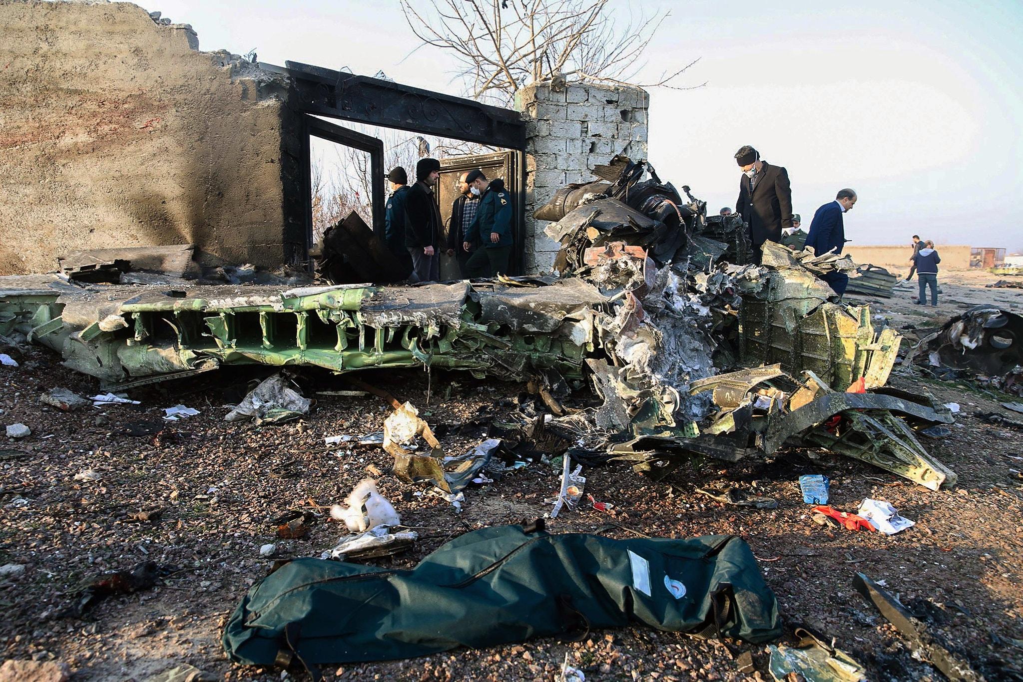 Plance crash in Iran