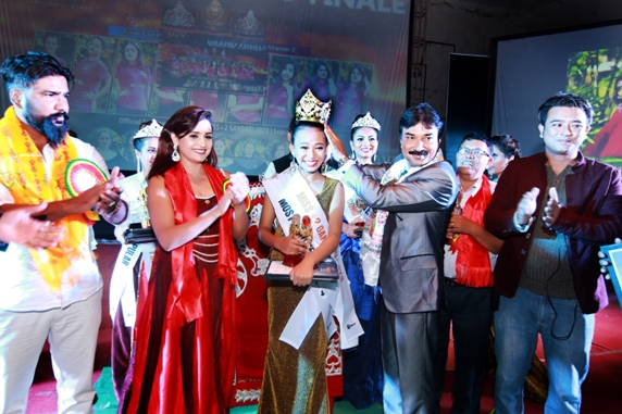 A crowning moment of Miss +2 Gandaki. Picture: S2 Production/Sooraz Shrestha