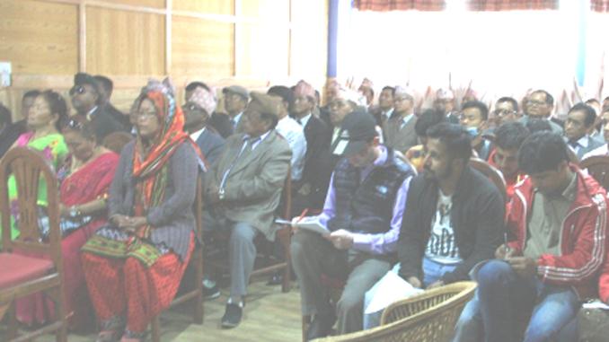 Press Meet. Picture: Bhupal Gurung