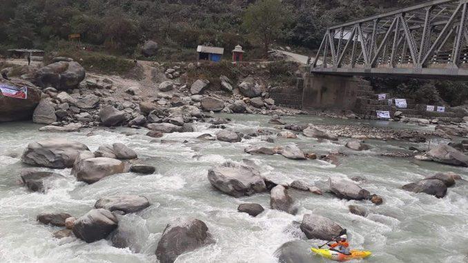 Upper Seti River. Picture: Milan Tiwari