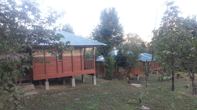 Cabins of Kalsee Eco-Lodge. Picture: Recentfusion.com