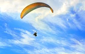 Paragliding file picture