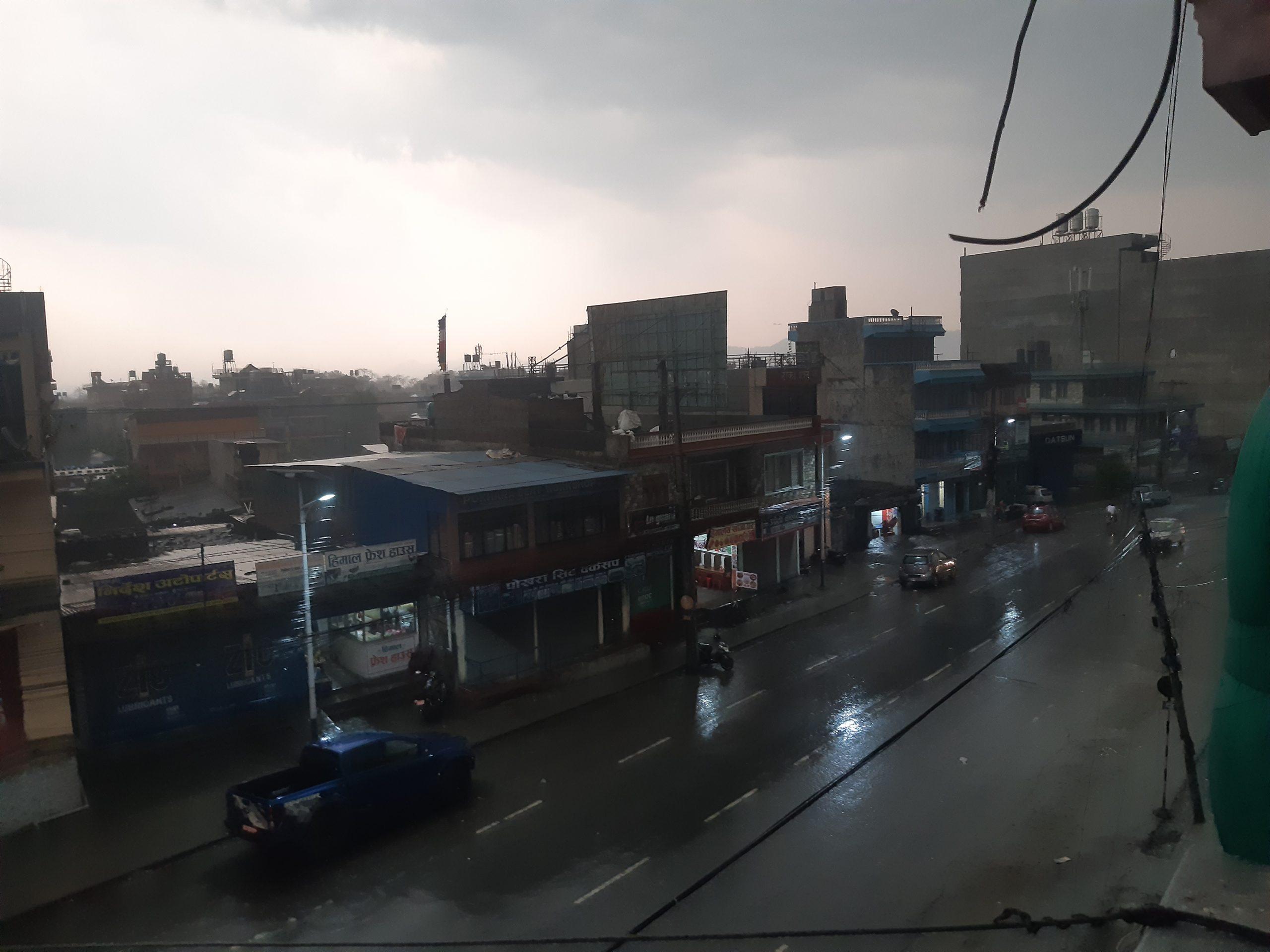 Pokhara dark